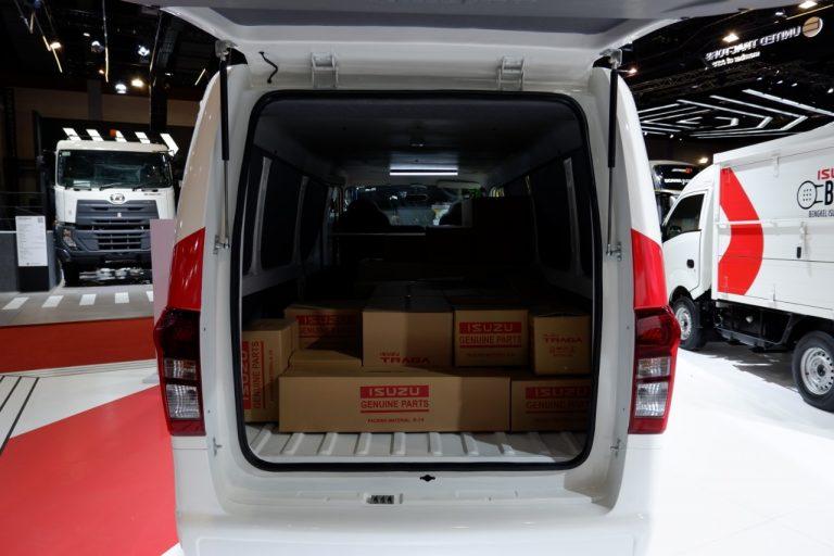 isuzu traga minibus dan blind van